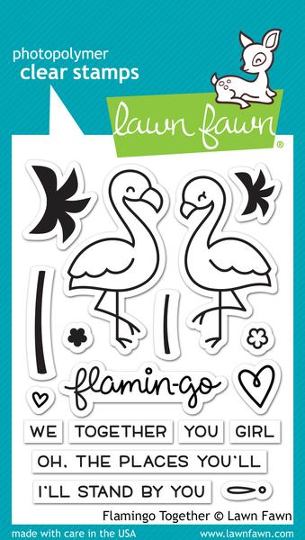 Flamingo Together - Stamps