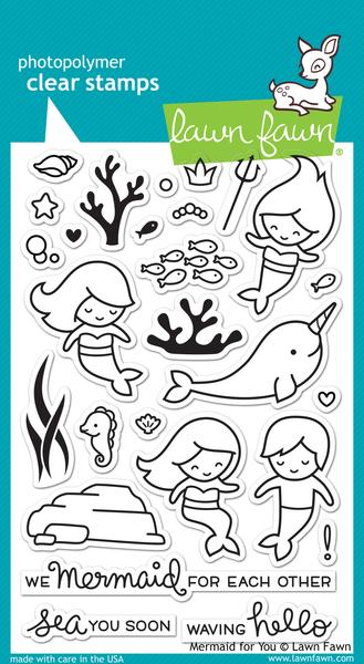 Mermaid for You - Stamps