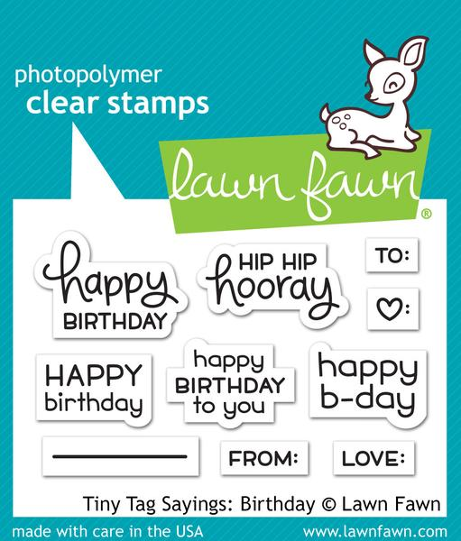 Tiny Tag Sayings Birthday - Stamps