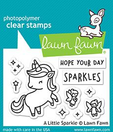 A Little Sparkle - Stamps