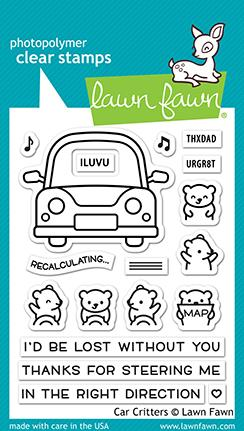 Car Critters - Stamps