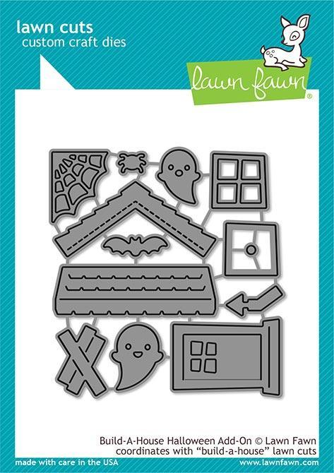Lawn Fawn - Build-a-House Halloween Add-on
