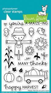 Happy Harvest - Stamps