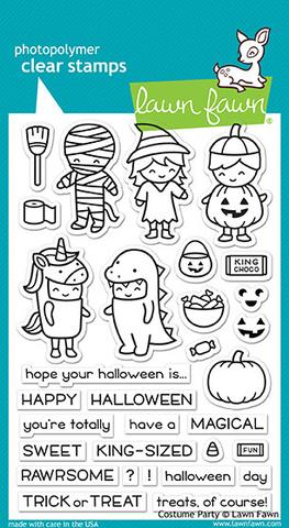Costume Party - Stamps