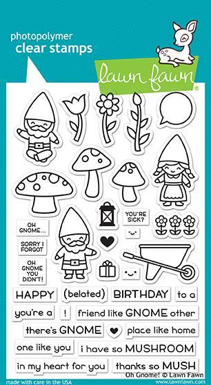 Oh Gnome - Stamps