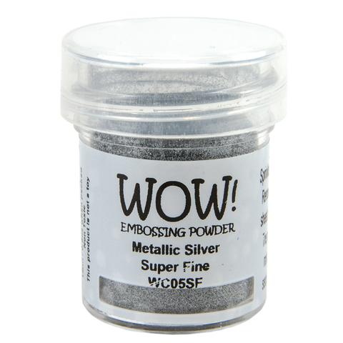 WOW! Embossing powder - Metallic Silver