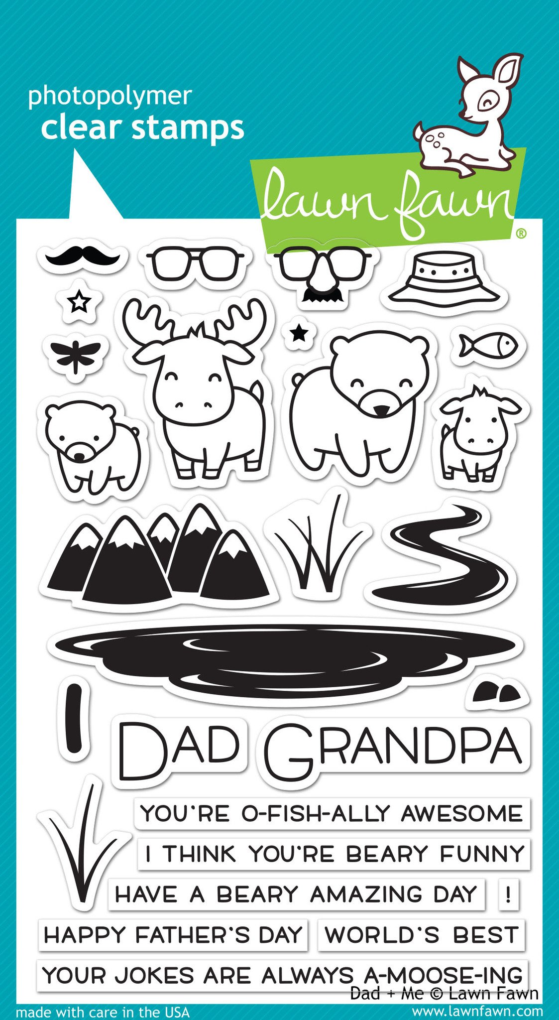 Dad Me - Stamps
