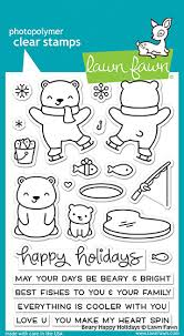 Beary Happy Holidays - Stamps