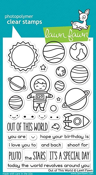 Out of This World - Stamps