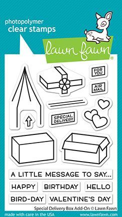 Special Delivery Box Add-On - Stamps