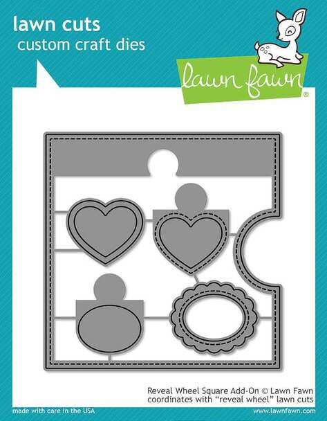 Lawn Fawn - Reveal Wheel Square
