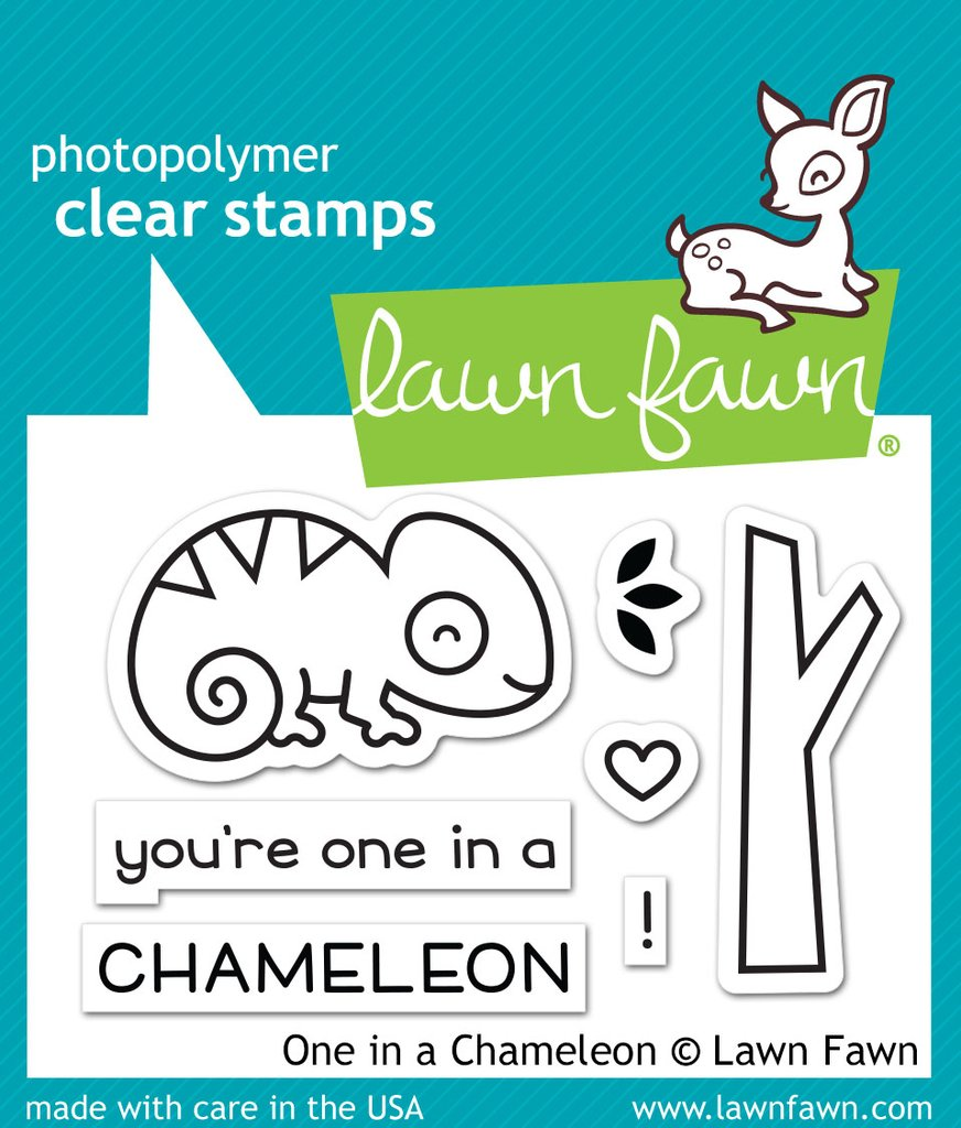 One In A Chameleon - Stamps