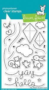 Yay, Kites! - Stamps