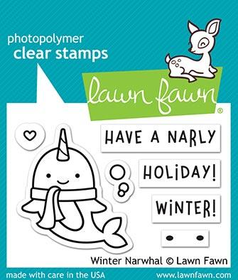 Winter Narwhal - Stamps