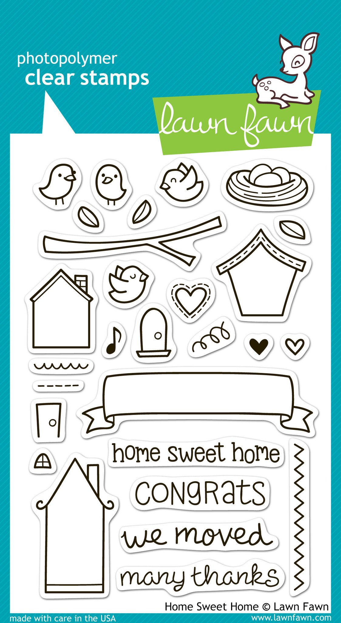 Home Sweet Home - Stamps