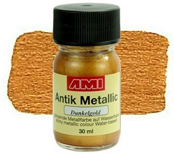 AMI Antik Metalic Dunkelgold