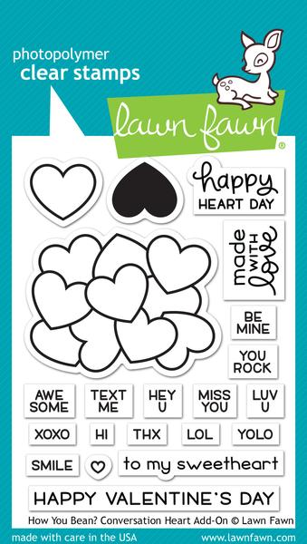 How You Bean - Conversation Hearts Add-On - Stamps