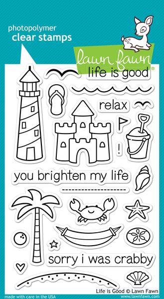 Life is Good - Stamps