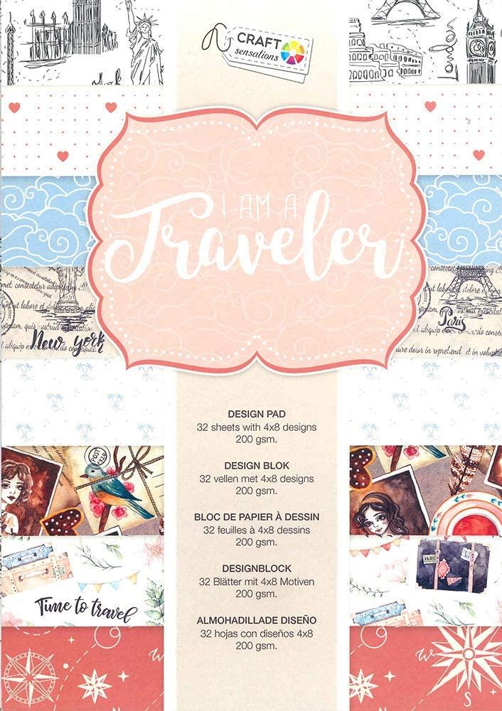 Craft Sensations - I am a traveler