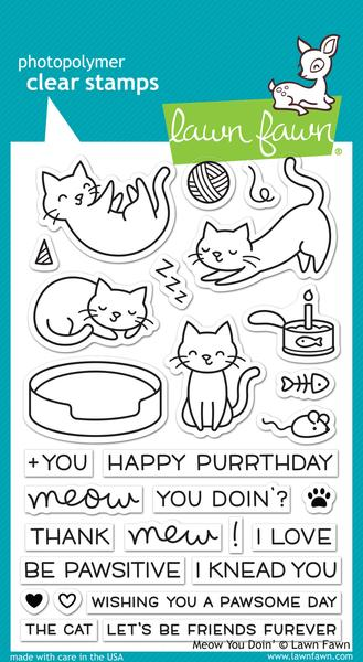 Meow You Doin' - Stamps