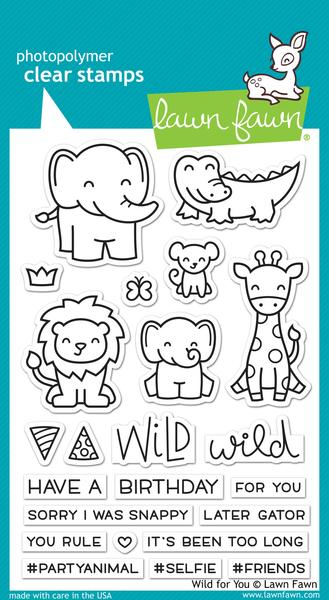 Wild for You - Stamps