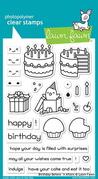 Birthday Before N Afters - Stamps