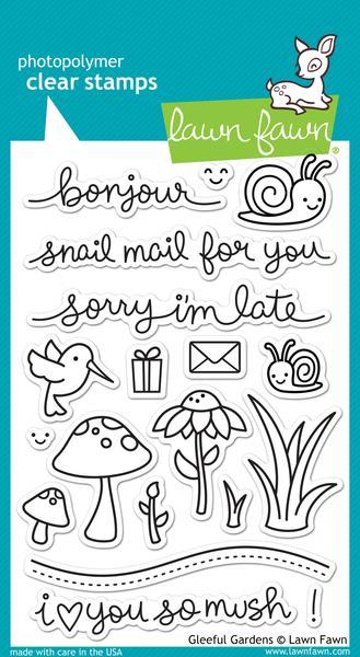 Gleeful Garden - Stamps