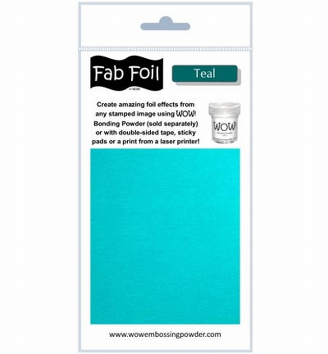 Fab Foil WOW! - Teal