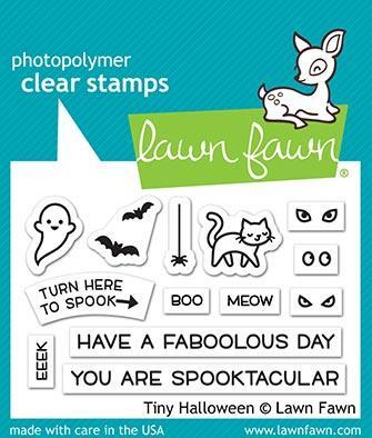 Tiny Halloween - Stamps