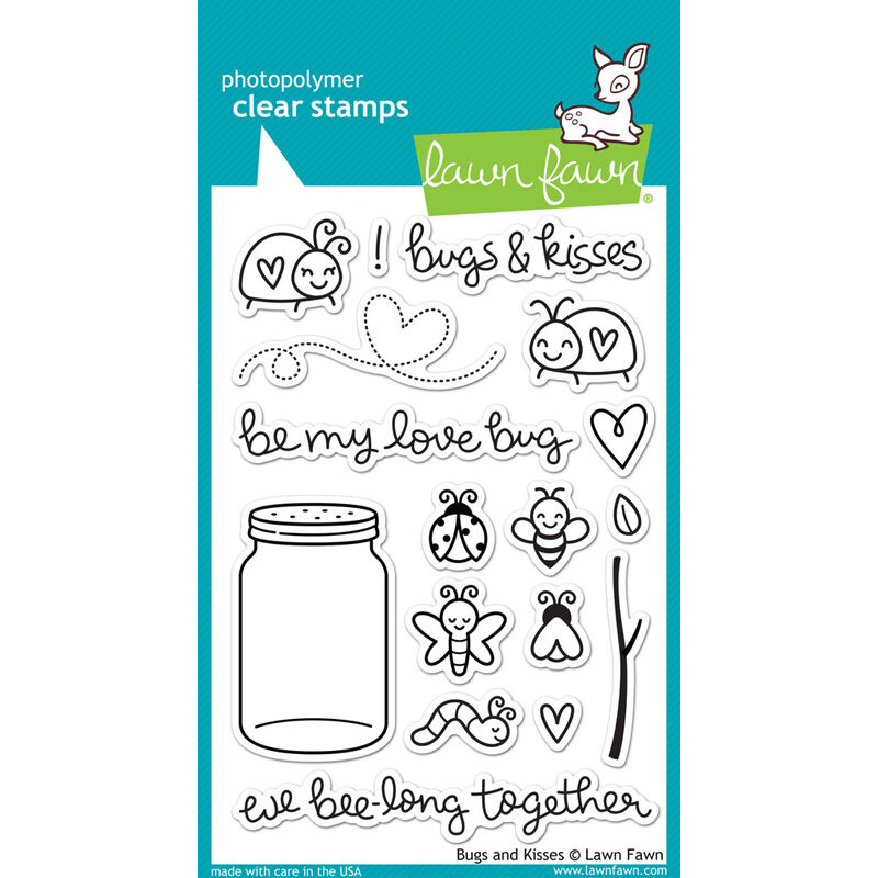 Bugs and Kisses - Stamps