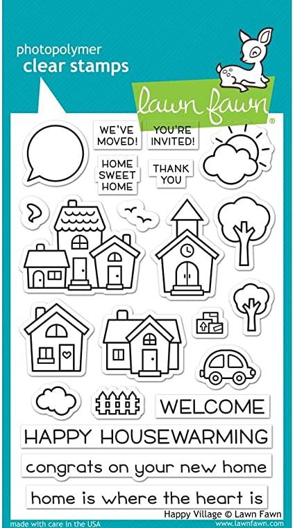 Happy Village - Stamps