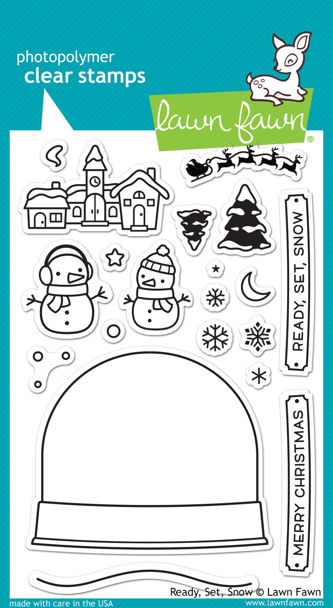 Ready, Set, Snow - Stamps