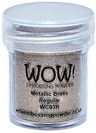 WOW! Embossing powder - Metallic Brass