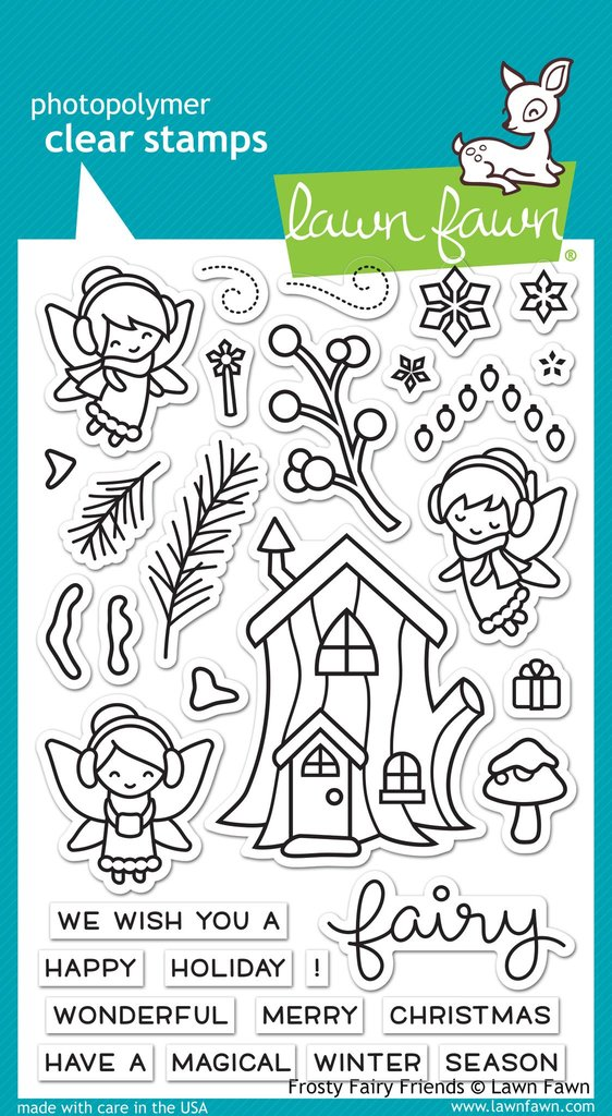 Frosty Fairy Friends - Stamps