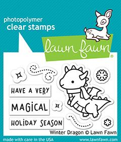 Winter Dragon - Stamps