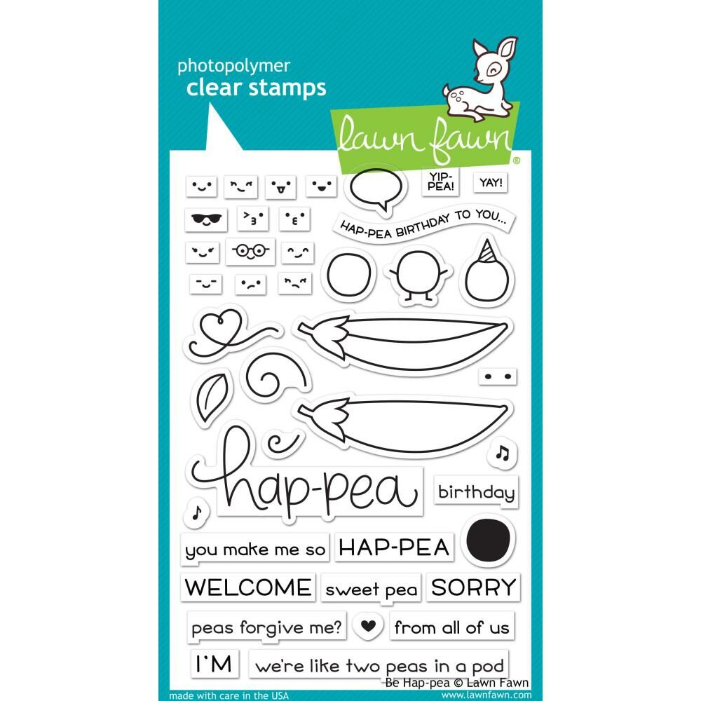 Be Hap-pea - Stamps