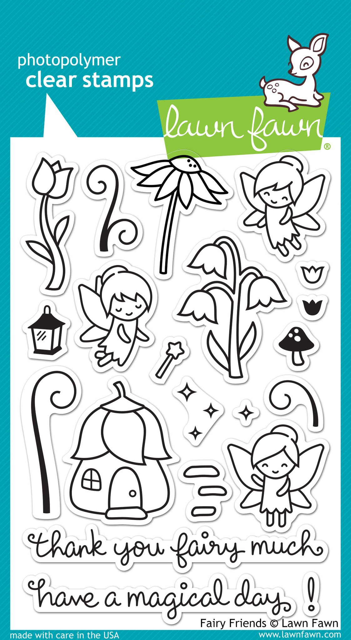 Fairy Friends - Stamps