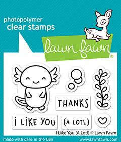 I Like You A Lotl - Stamps