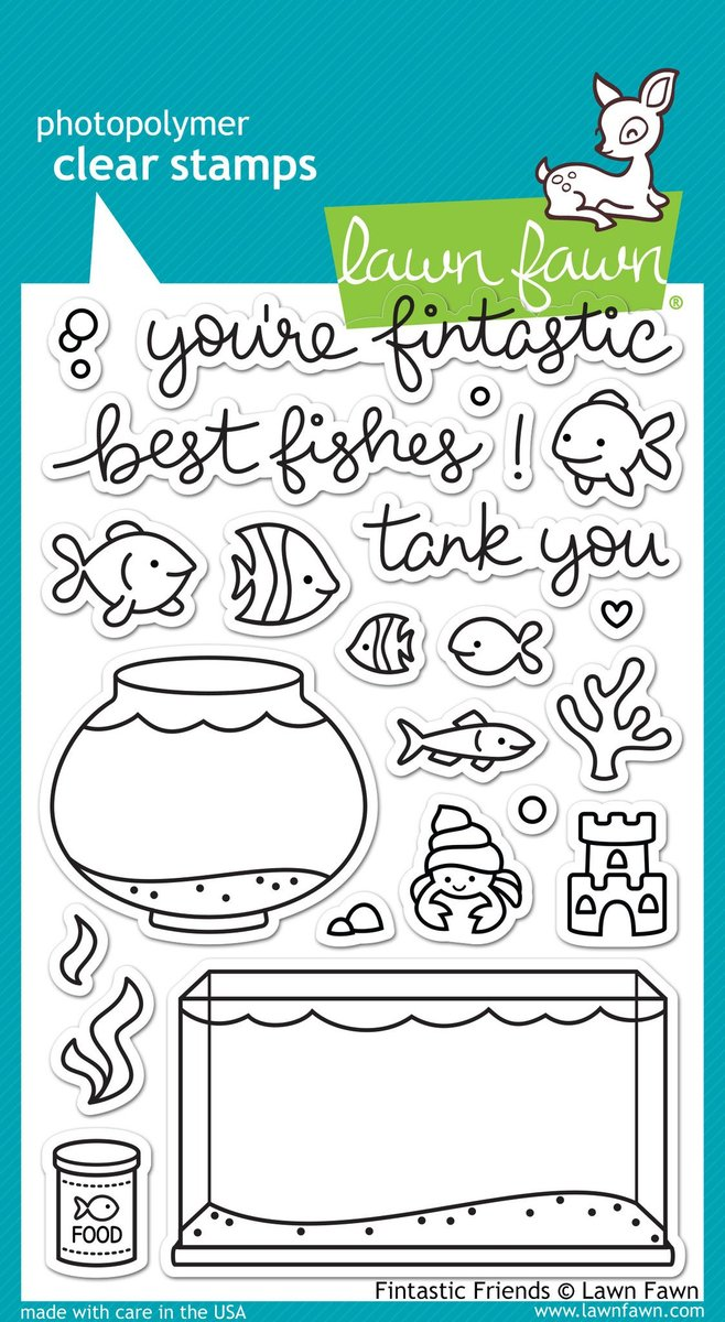 Fintastic Friends - Stamps