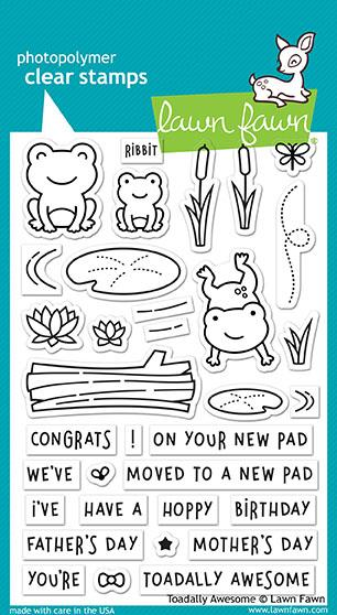 Toadally Awesome - Stamps