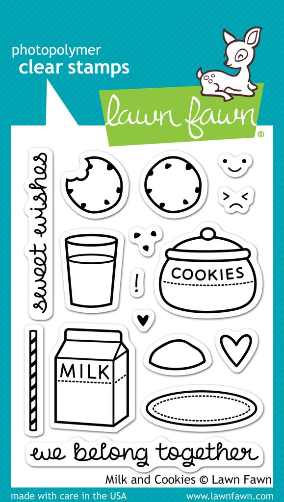 Milk And Cookies - Stamps
