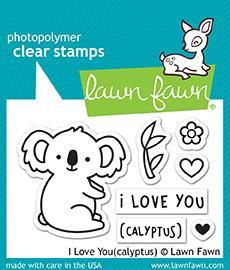 I Love You(Calyptus) - Stamps