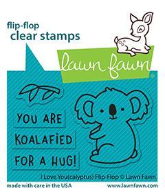 I Love You(Calyptus) Flip-Flop - Stamps