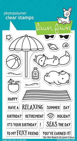 On The Beach - Stamps