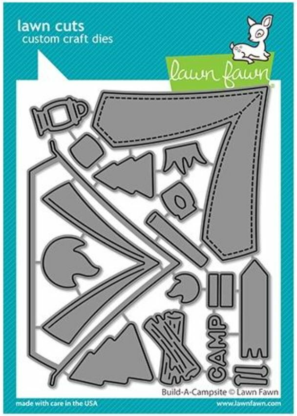 Lawn Fawn - Build-A-Campsite