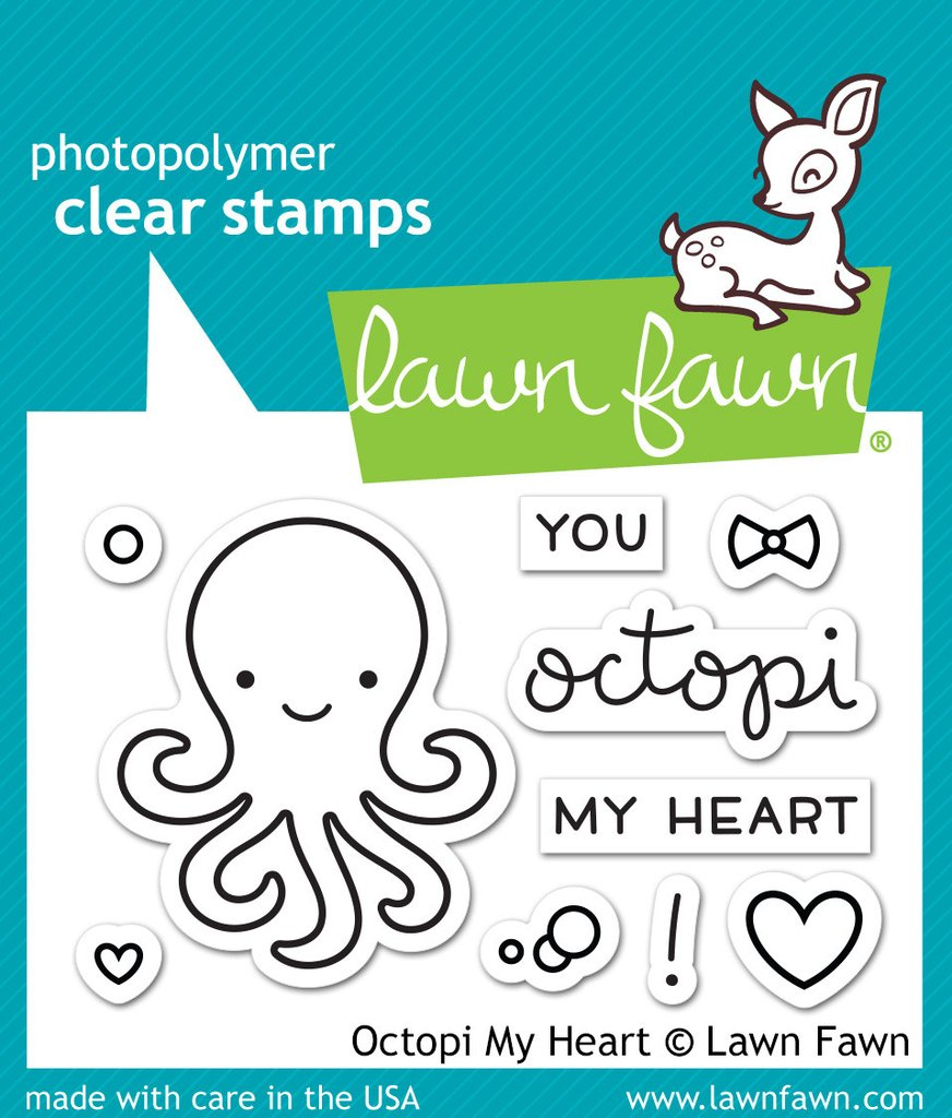 Octopi My Heart - Stamps