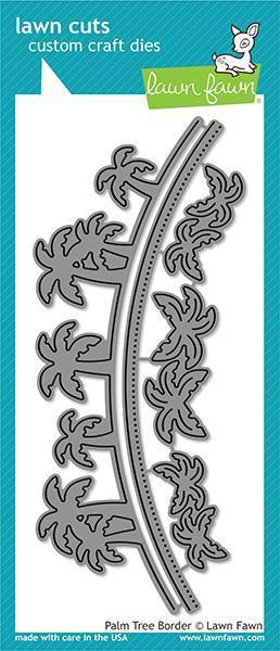 Lawn Fawn - Palm Tree Border