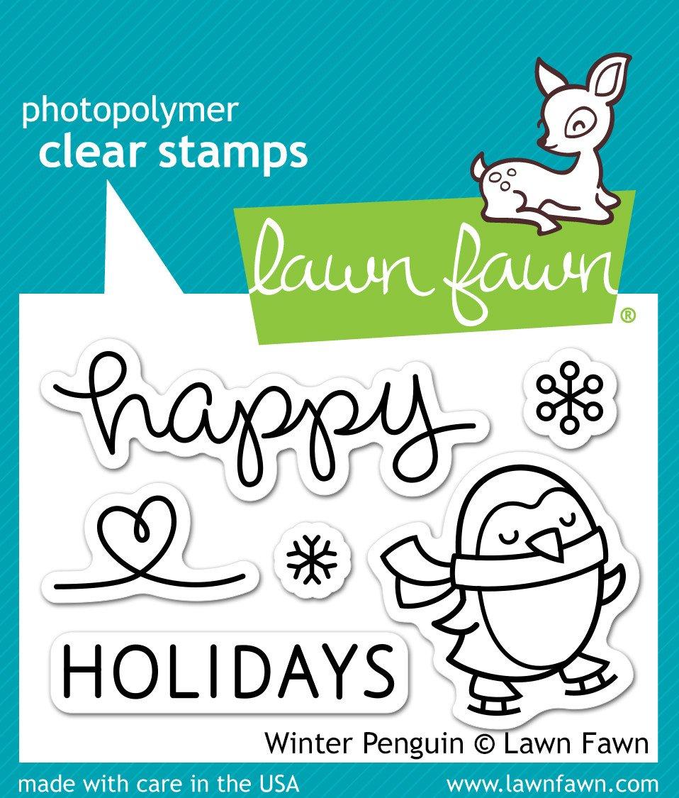 Winter Penguin - Stamps