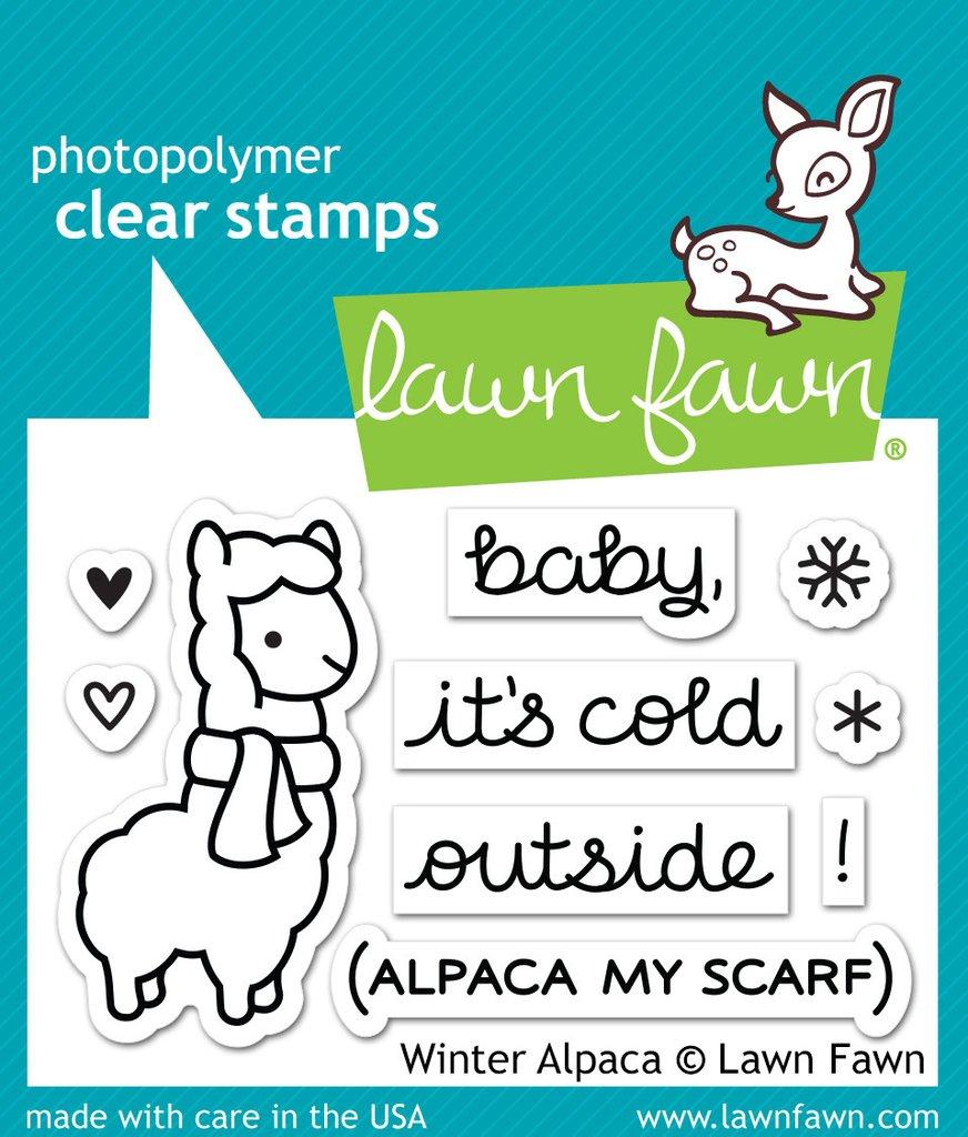 Winter Alpaca - Stamps