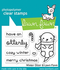 Winter Otter - Stamps